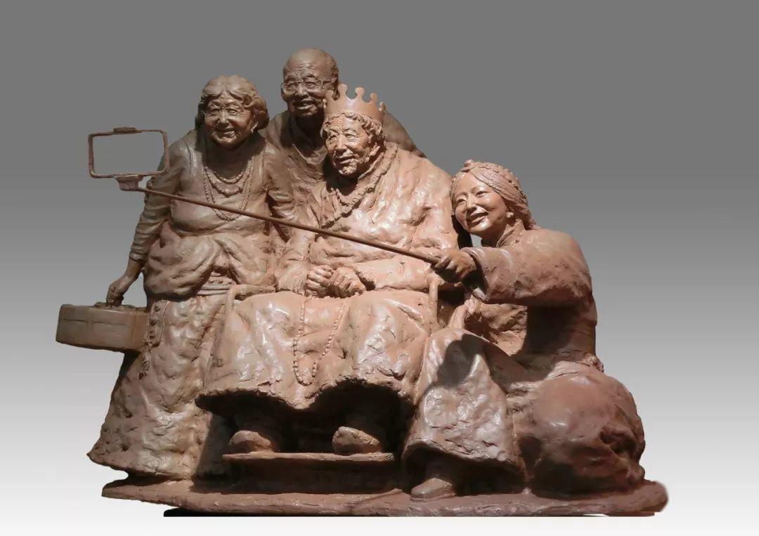 第十三届全国美展·雕塑作品展插图263