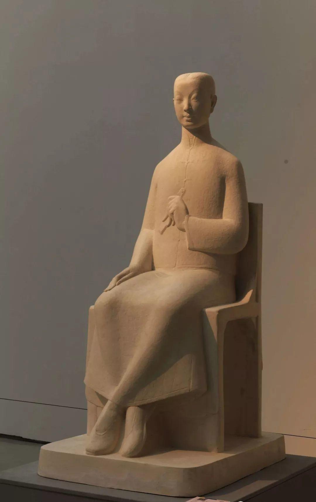 第十三届全国美展·雕塑作品展插图291