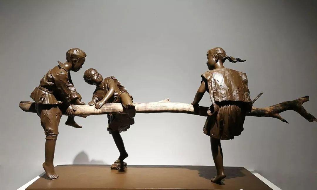 第十三届全国美展·雕塑作品展插图345