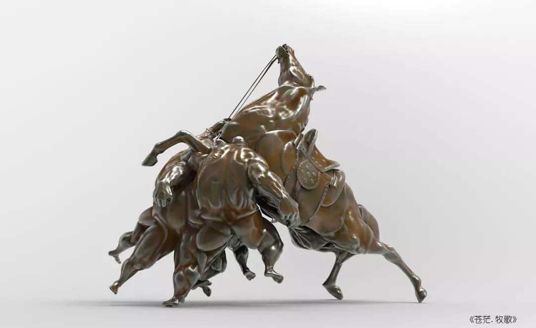 第十三届全国美展·雕塑作品展插图355