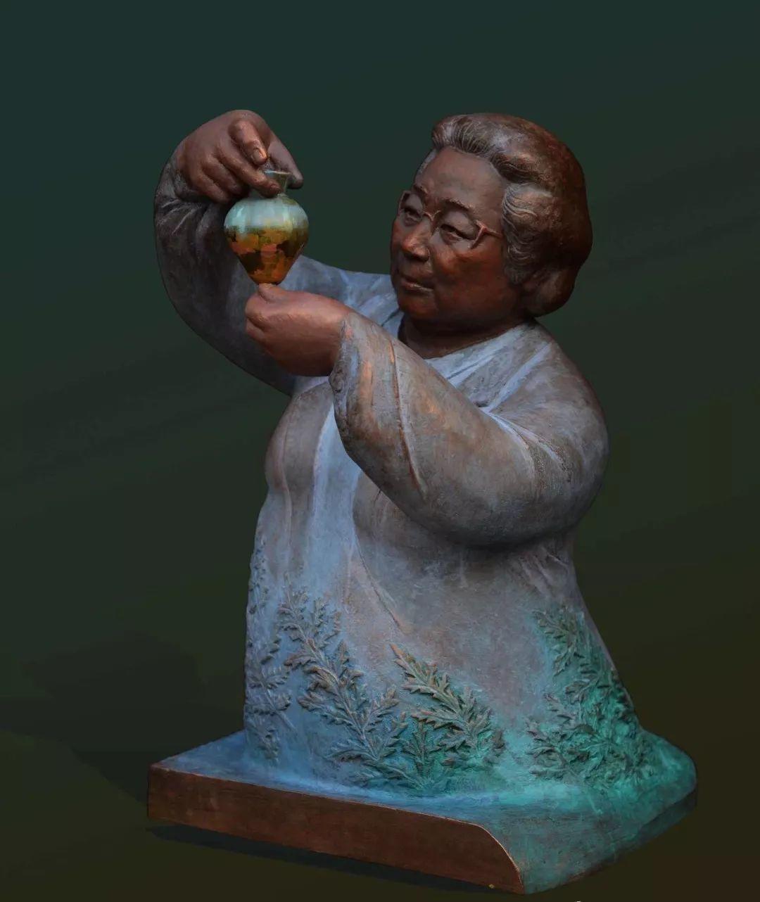 第十三届全国美展·雕塑作品展插图357