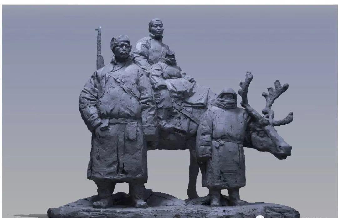 第十三届全国美展·雕塑作品展插图365