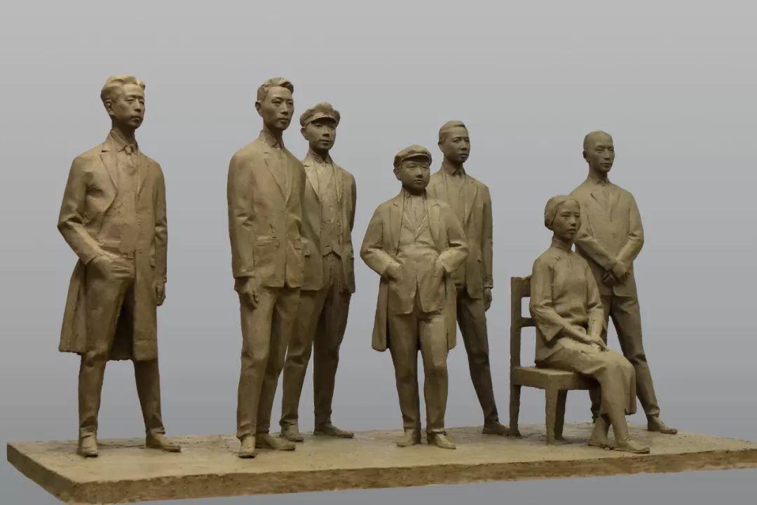 第十三届全国美展·雕塑作品展插图375