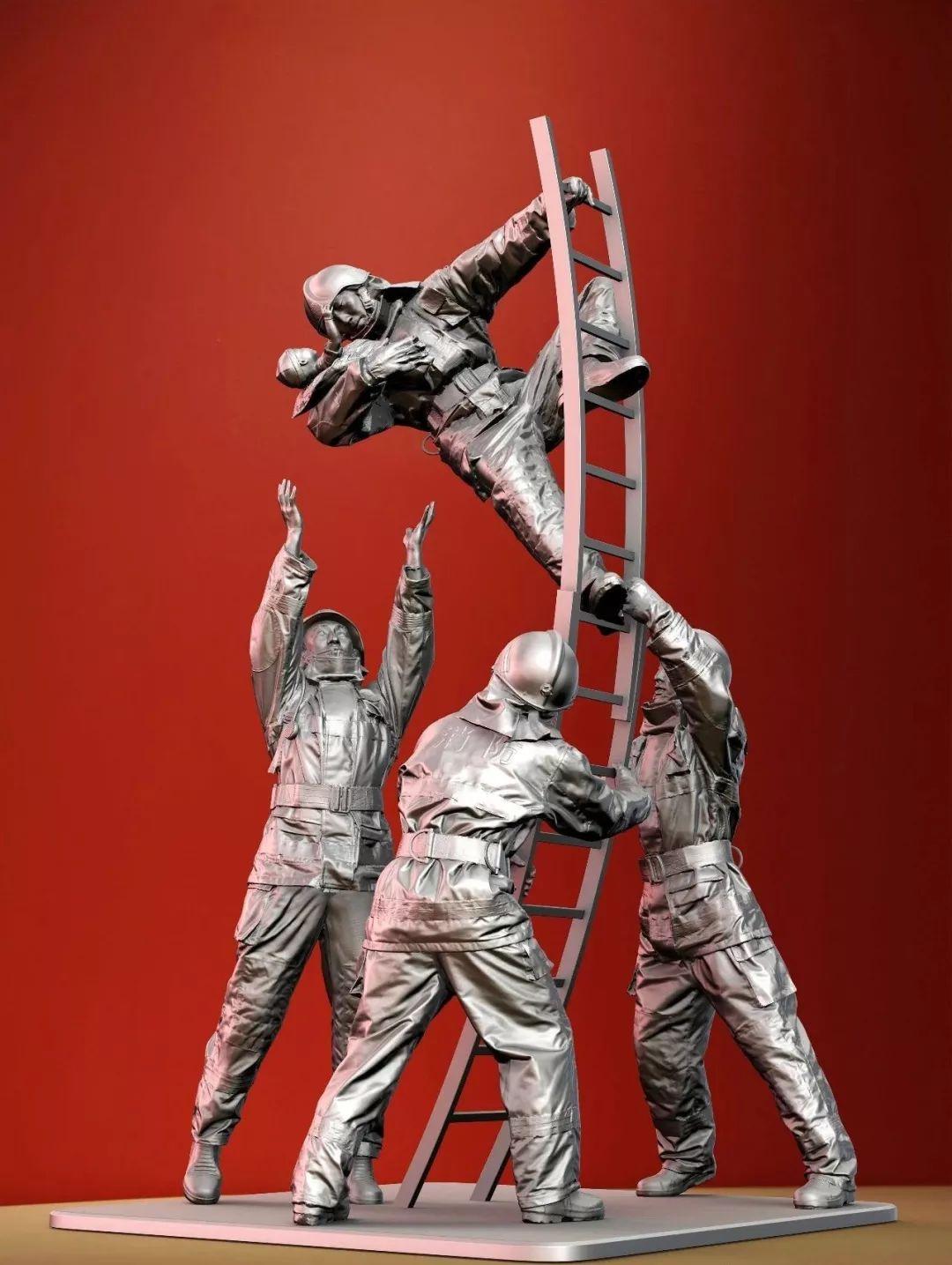 第十三届全国美展·雕塑作品展插图389