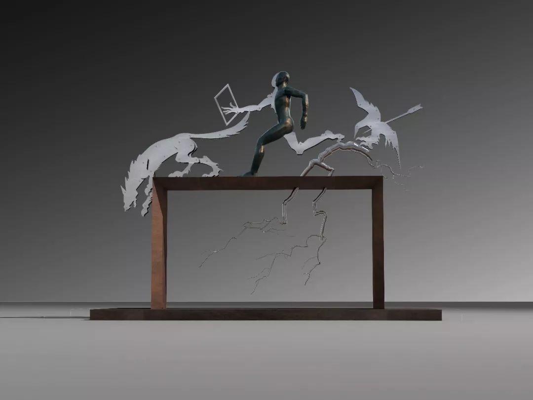 第十三届全国美展·雕塑作品展插图413