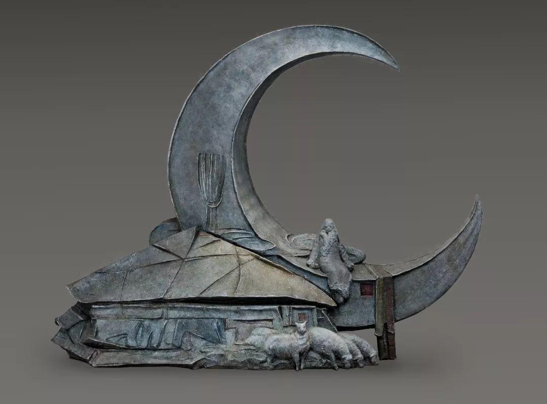 第十三届全国美展·雕塑作品展插图455