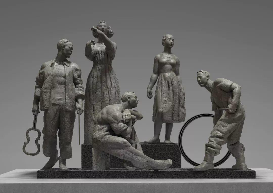 第十三届全国美展·雕塑作品展插图473