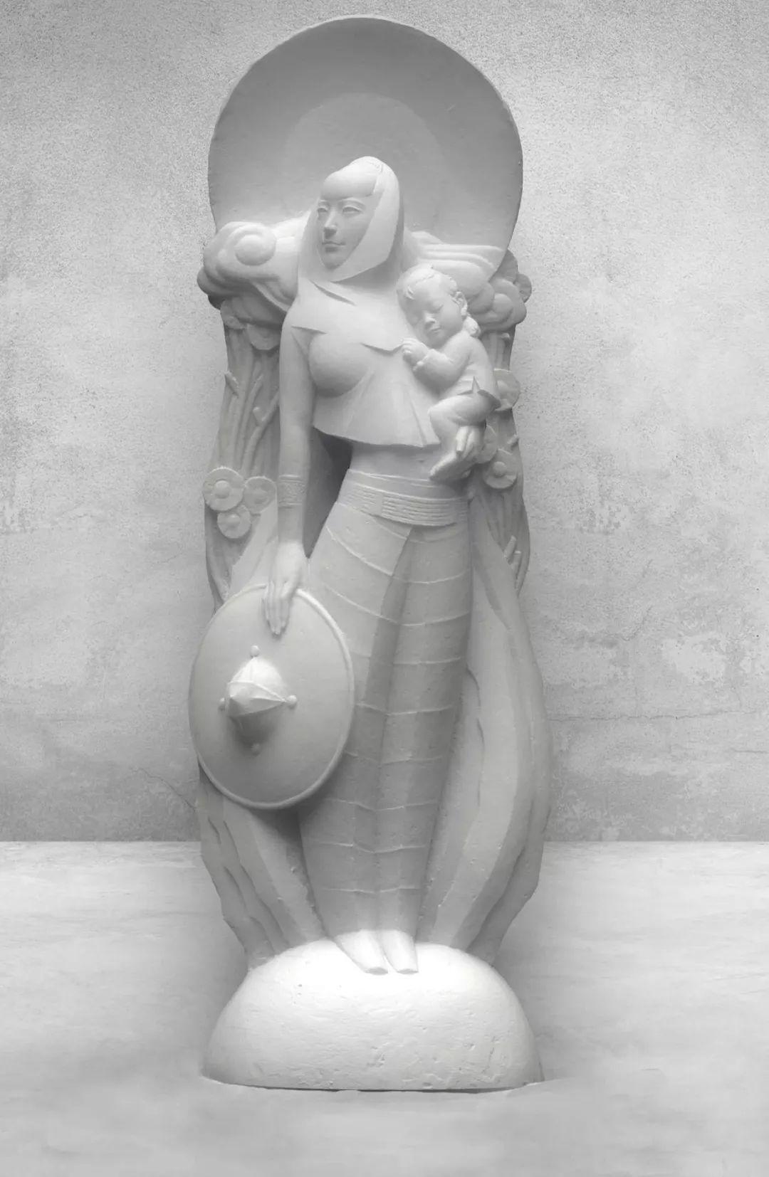第十三届全国美展·雕塑作品展插图477
