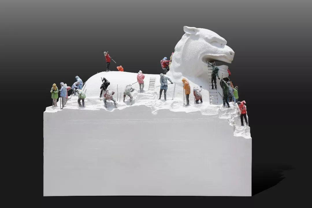 第十三届全国美展·雕塑作品展插图501
