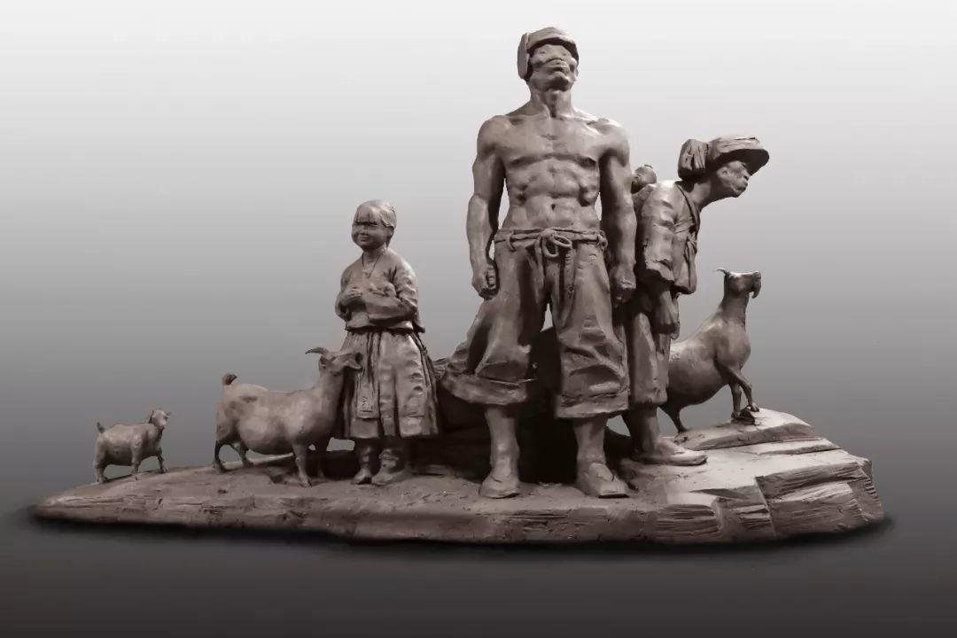 第十三届全国美展·雕塑作品展插图507