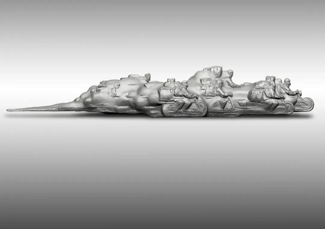 第十三届全国美展·雕塑作品展插图511
