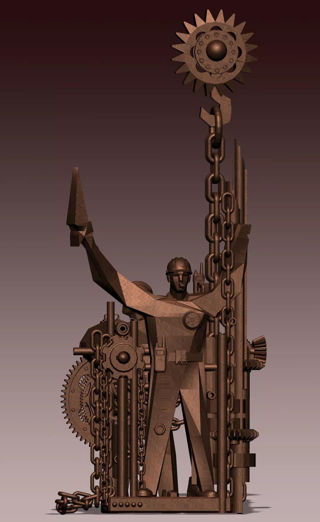 第十三届全国美展·雕塑作品展插图519
