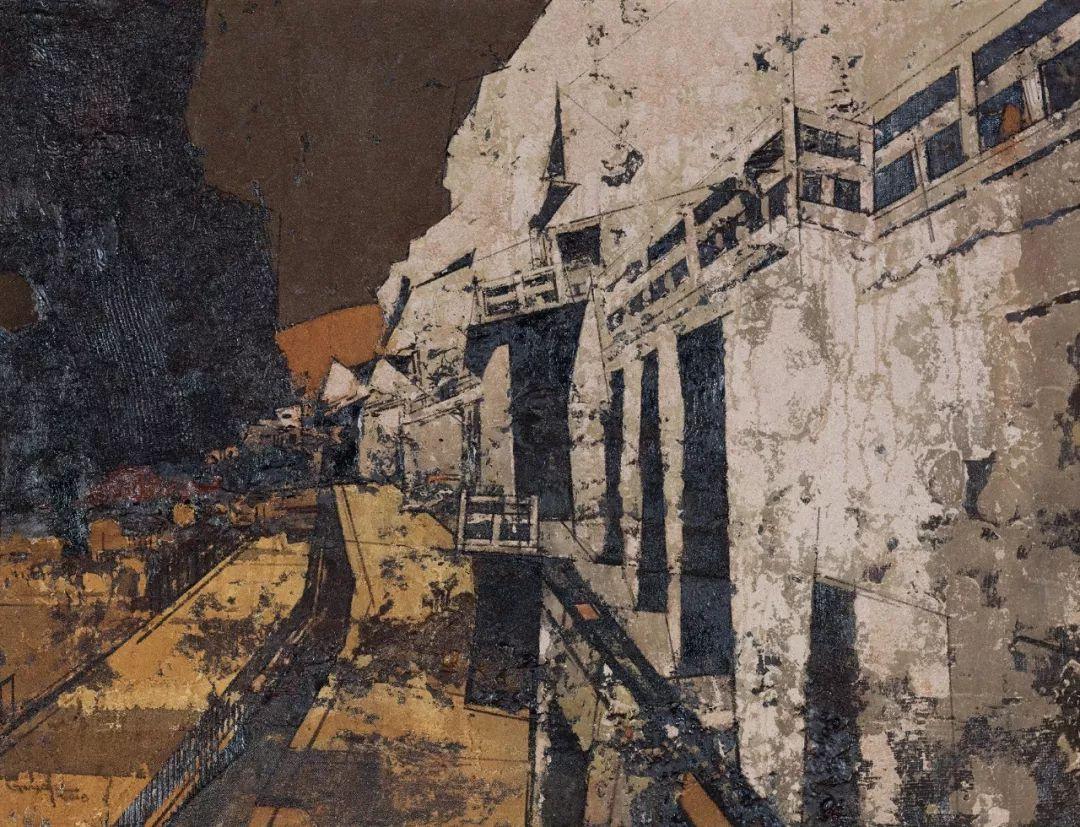 第十三届全国美展·综合材料绘画作品展插图13