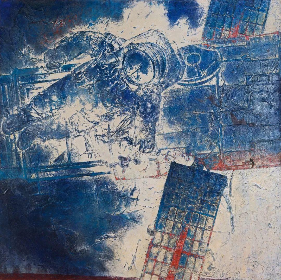 第十三届全国美展·综合材料绘画作品展插图16