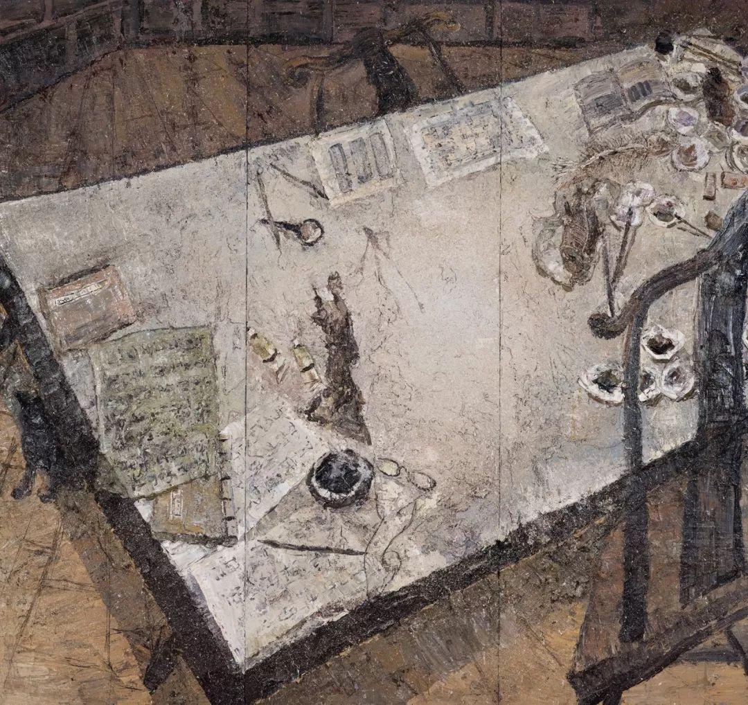 第十三届全国美展·综合材料绘画作品展插图32
