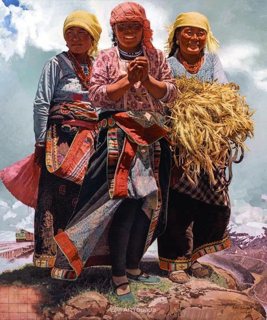 第十三届全国美展油画作品展全集595幅 (上)插图4