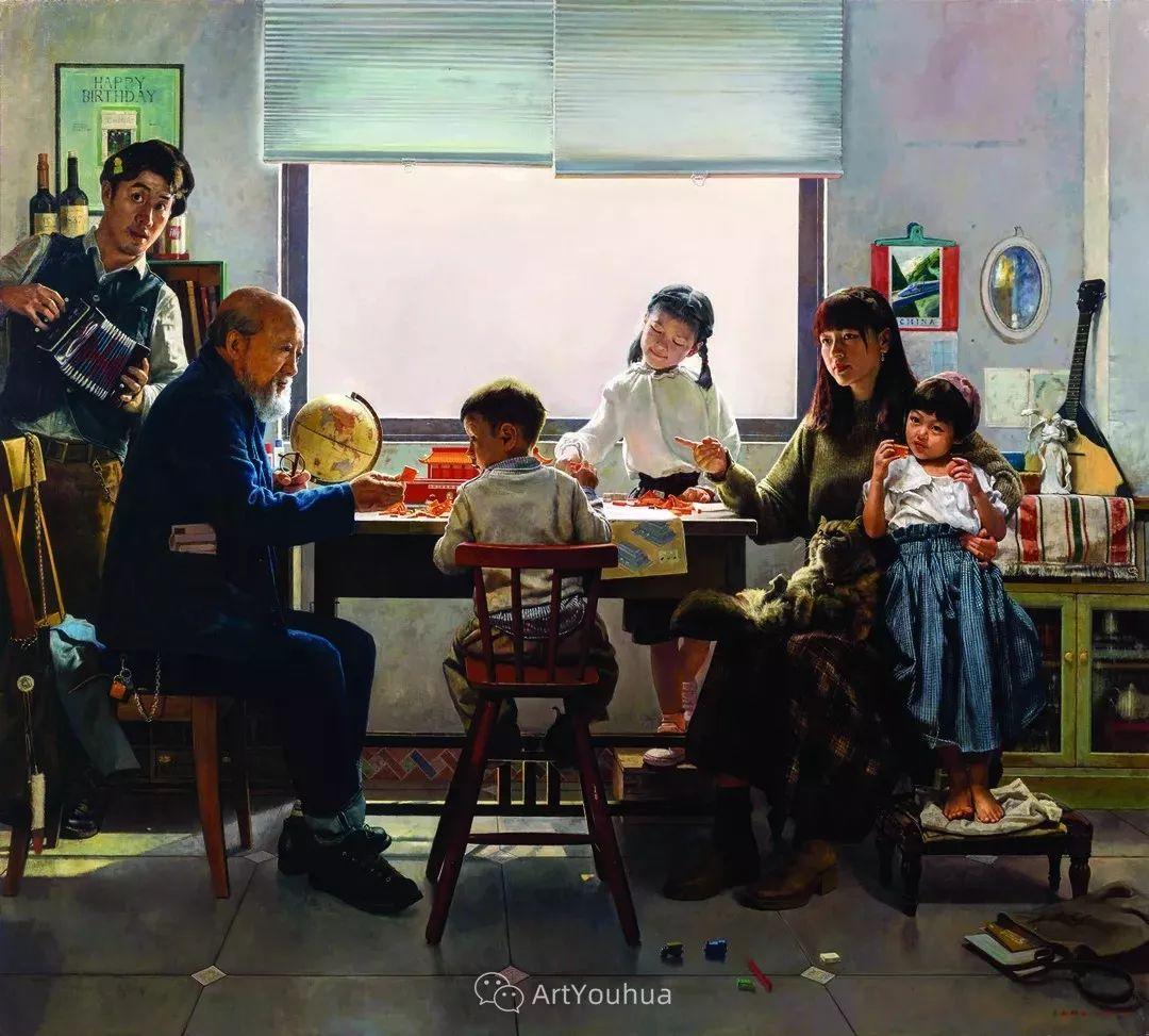 第十三届全国美展油画作品展全集595幅 (上)插图9