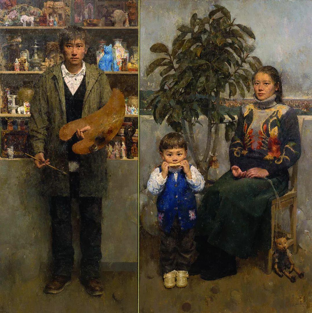 第十三届全国美展油画作品展全集595幅 (上)插图11