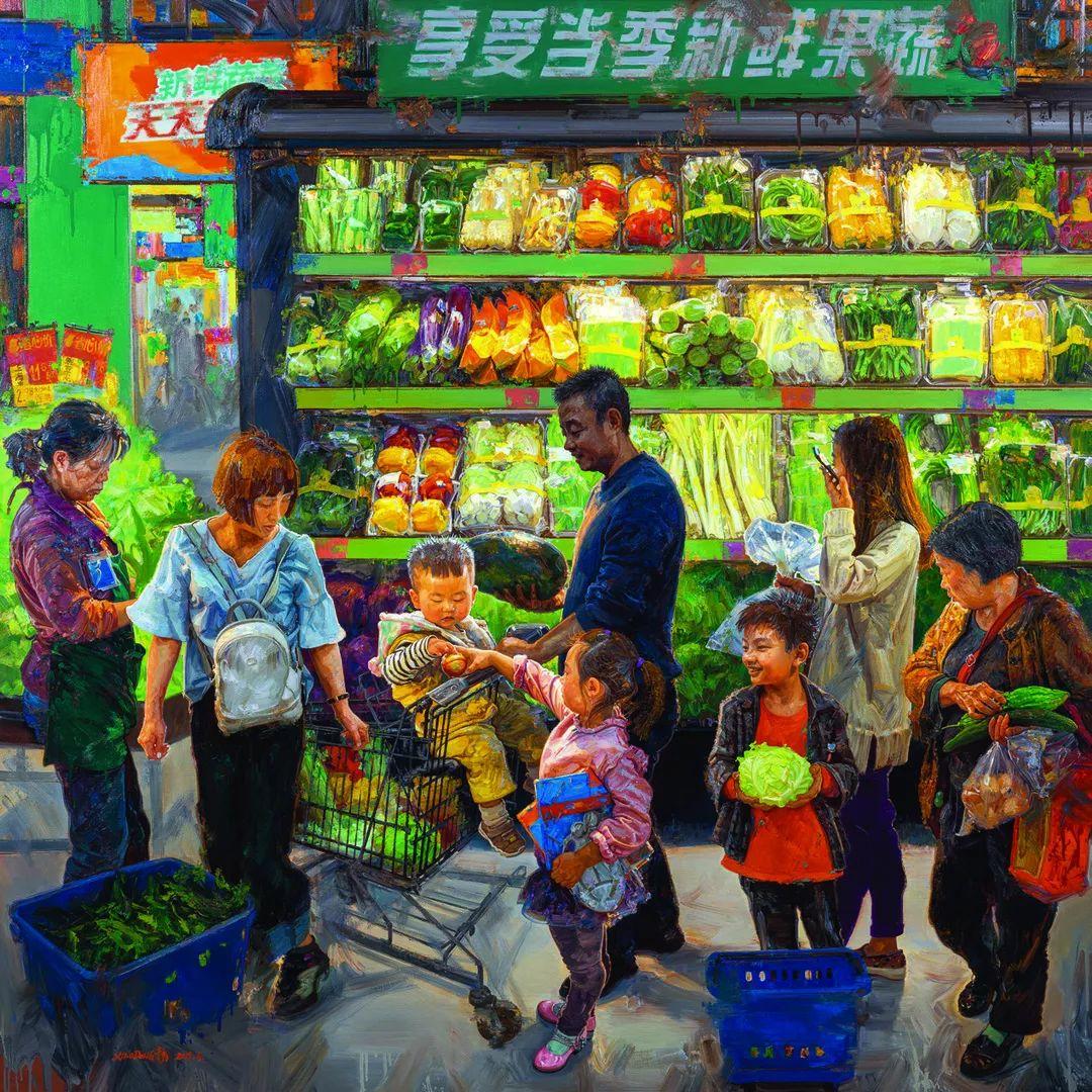 第十三届全国美展油画作品展全集595幅 (上)插图13