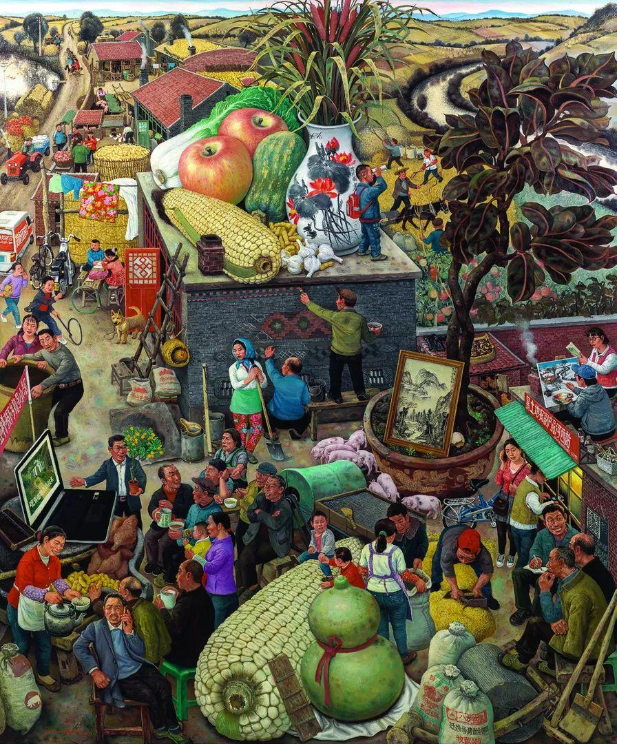 第十三届全国美展油画作品展全集595幅 (上)插图21