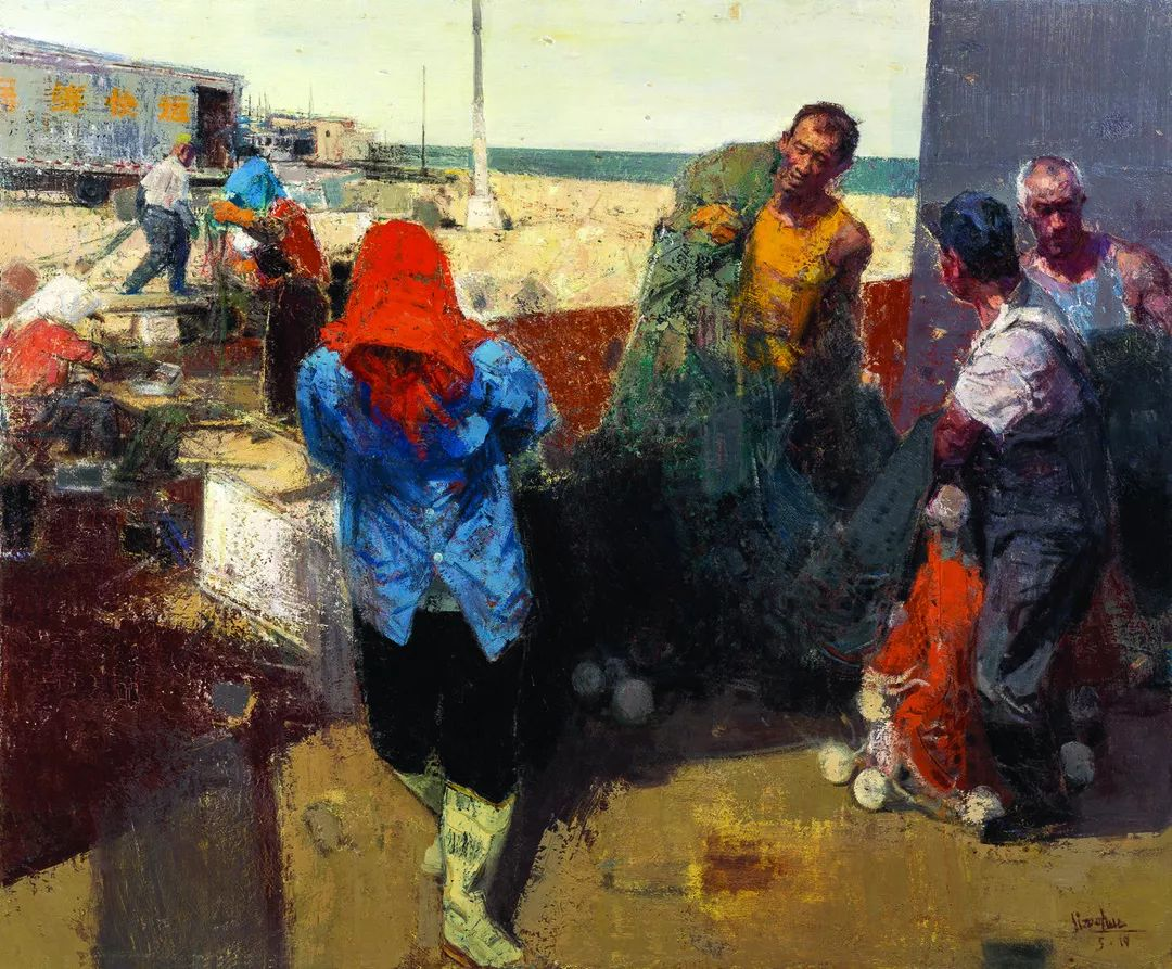 第十三届全国美展油画作品展全集595幅 (上)插图45
