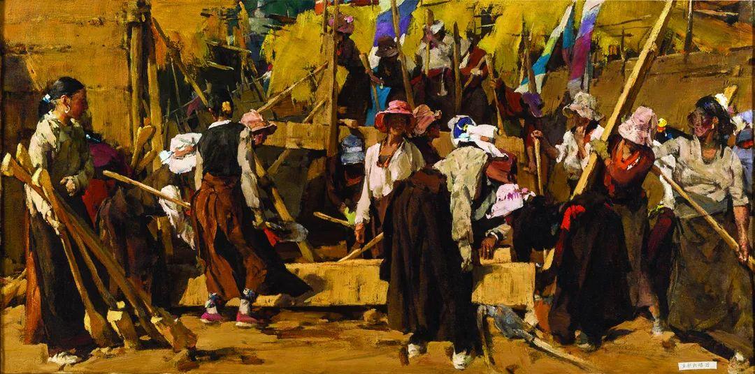 第十三届全国美展油画作品展全集595幅 (上)插图56