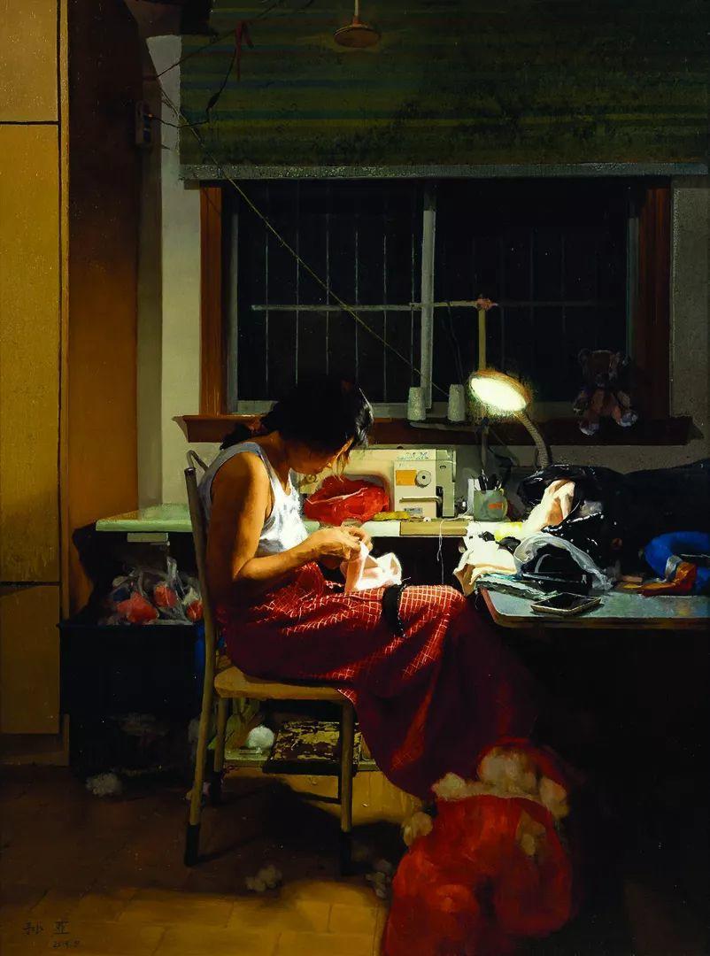 第十三届全国美展油画作品展全集595幅 (上)插图57