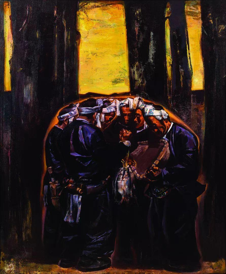 第十三届全国美展油画作品展全集595幅 (上)插图63