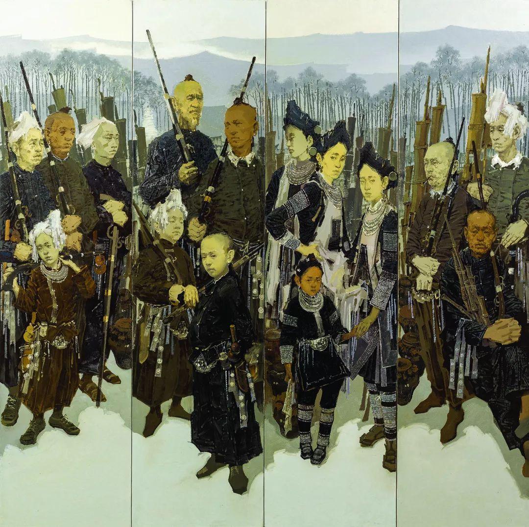 第十三届全国美展油画作品展全集595幅 (上)插图69