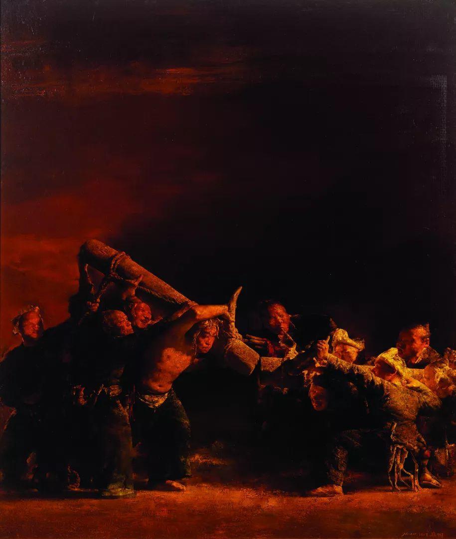 第十三届全国美展油画作品展全集595幅 (上)插图70