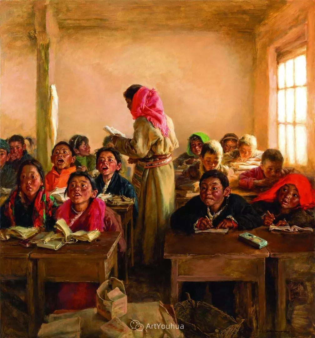 第十三届全国美展油画作品展全集595幅 (上)插图76