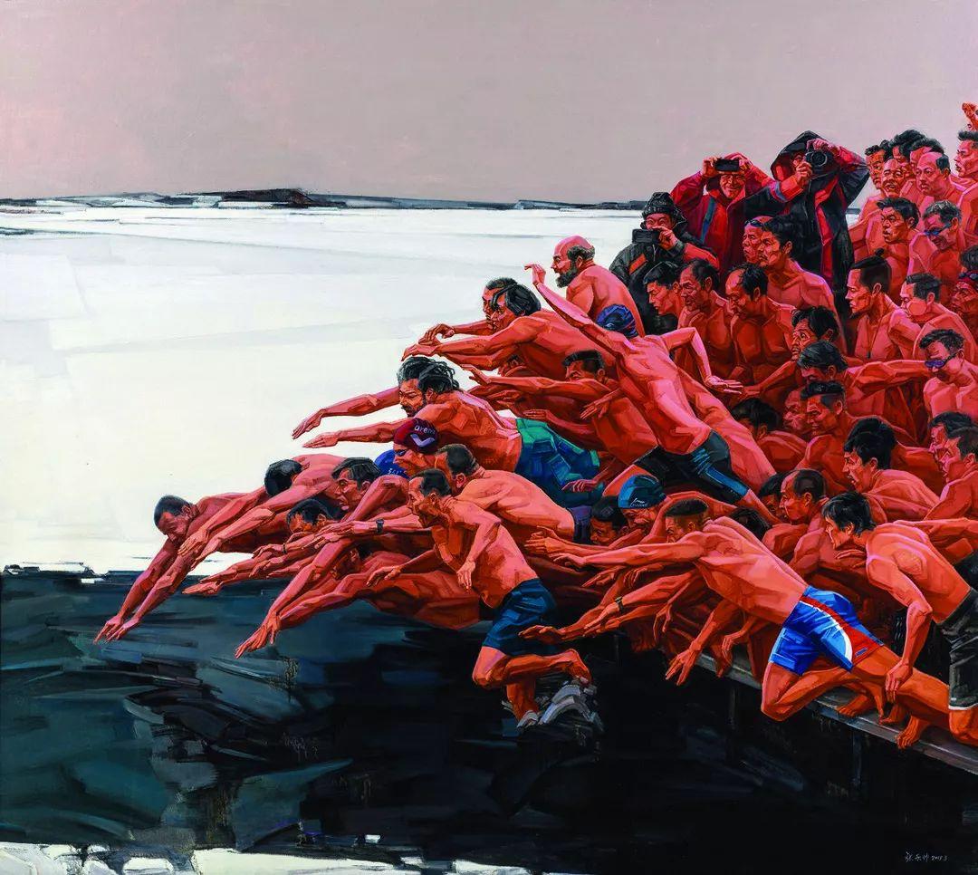 第十三届全国美展油画作品展全集595幅 (上)插图81