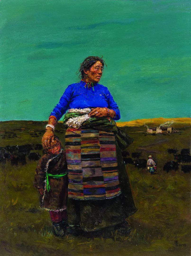 第十三届全国美展油画作品展全集595幅 (上)插图98