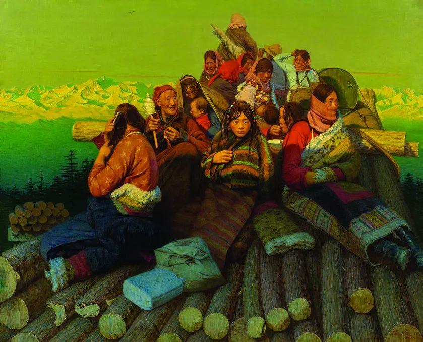 第十三届全国美展油画作品展全集595幅 (上)插图119
