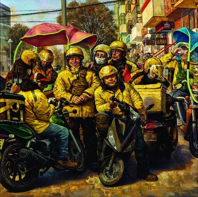 第十三届全国美展油画作品展全集595幅 (上)插图121