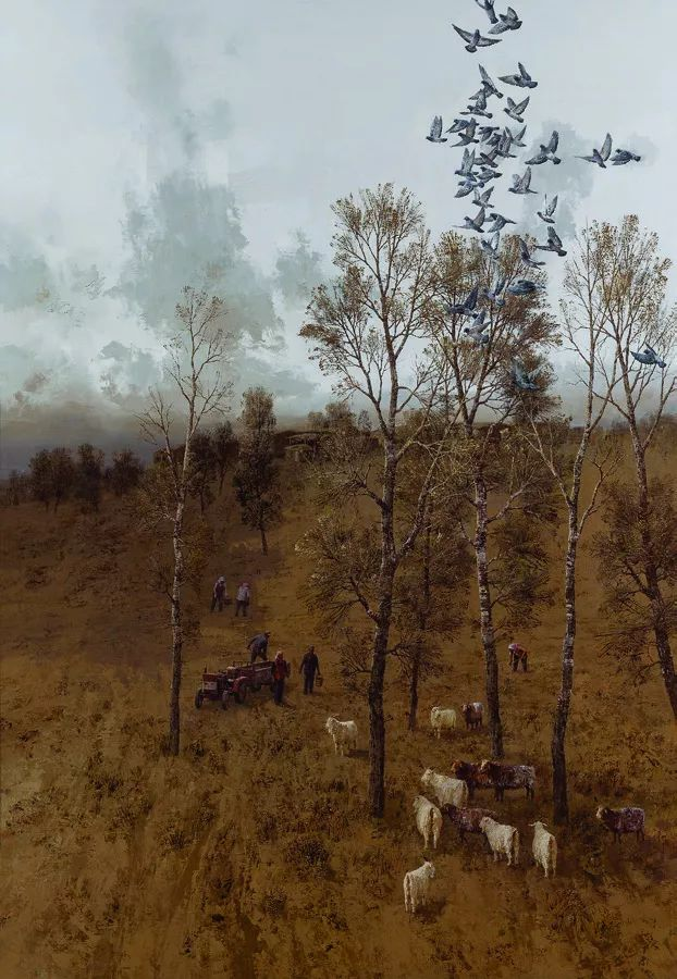 第十三届全国美展油画作品展全集595幅 (上)插图124