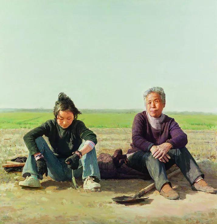 第十三届全国美展油画作品展全集595幅 (上)插图139