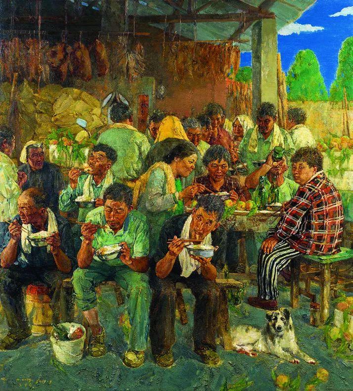 第十三届全国美展油画作品展全集595幅 (上)插图140