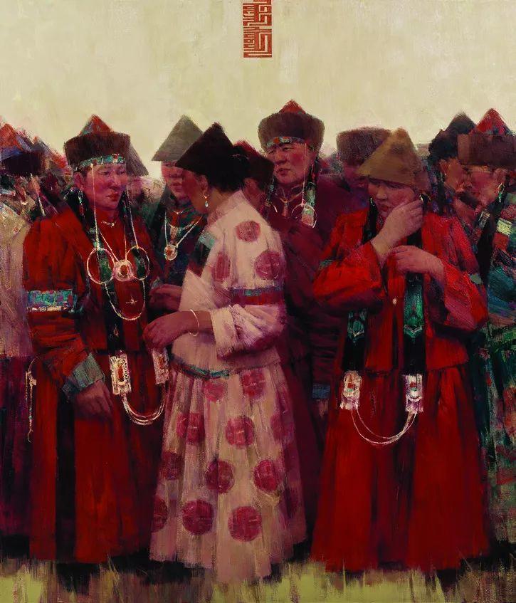 第十三届全国美展油画作品展全集595幅 (上)插图144