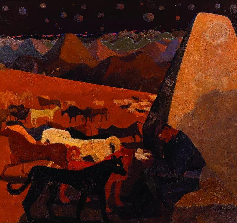 第十三届全国美展油画作品展全集595幅 (上)插图146