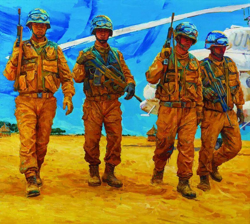 第十三届全国美展油画作品展全集595幅 (上)插图149