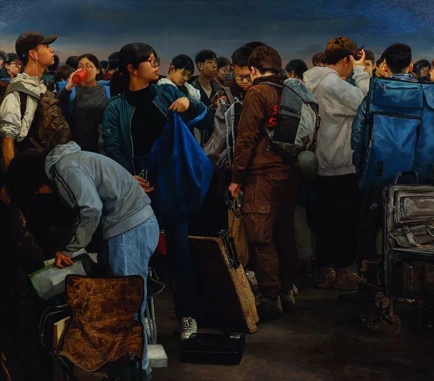 第十三届全国美展油画作品展全集595幅 (上)插图150