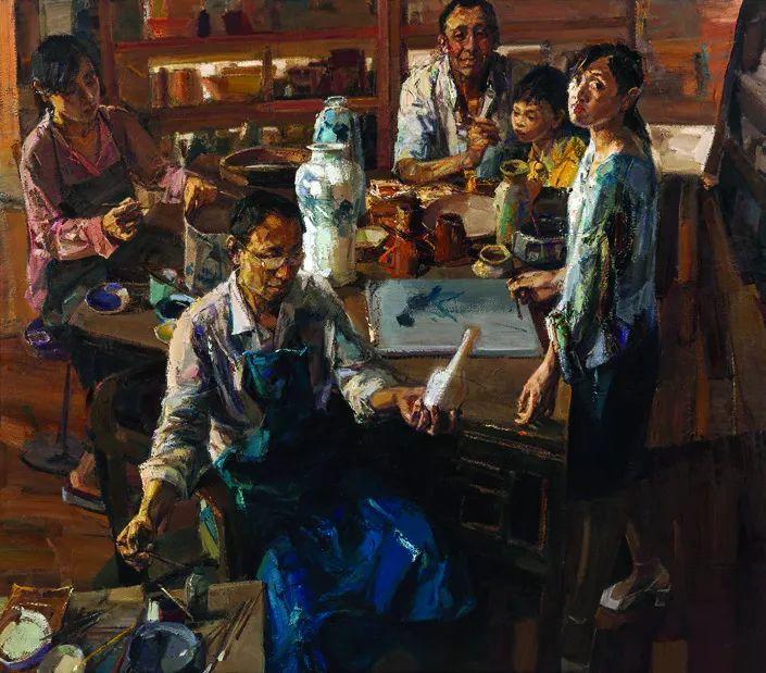 第十三届全国美展油画作品展全集595幅 (上)插图152