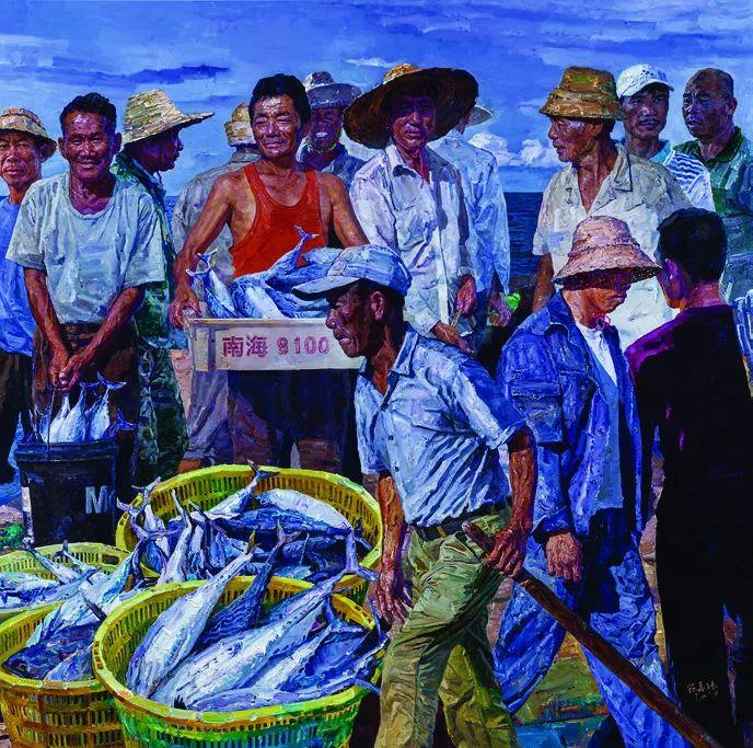 第十三届全国美展油画作品展全集595幅 (上)插图157