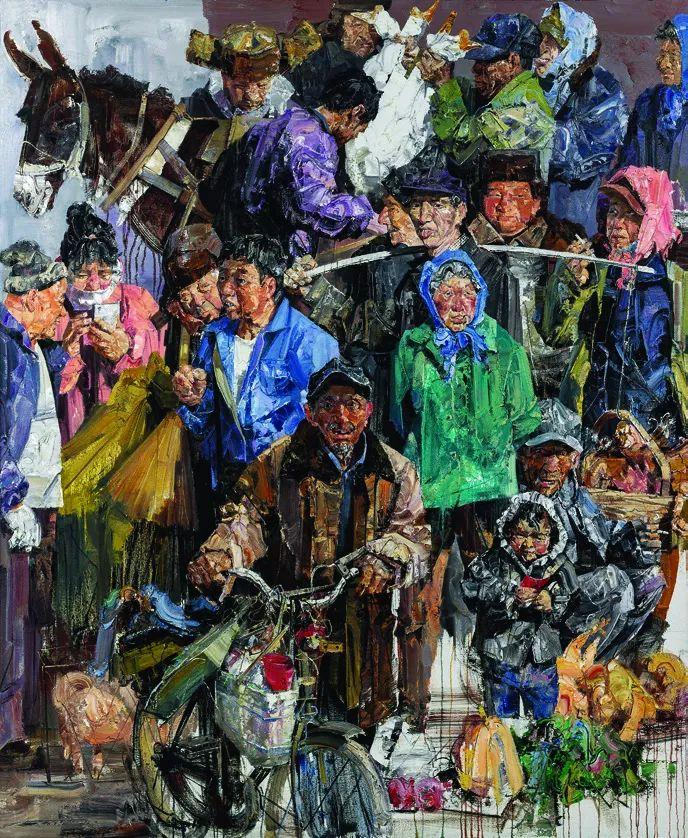 第十三届全国美展油画作品展全集595幅 (上)插图158