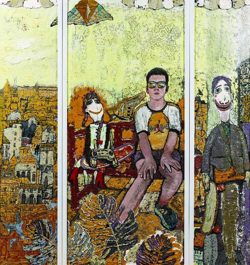 第十三届全国美展油画作品展全集595幅 (上)插图159