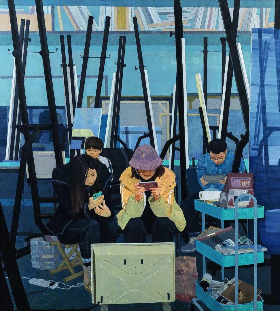 第十三届全国美展油画作品展全集595幅 (上)插图161