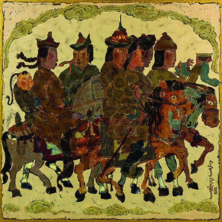 第十三届全国美展油画作品展全集595幅 (上)插图171