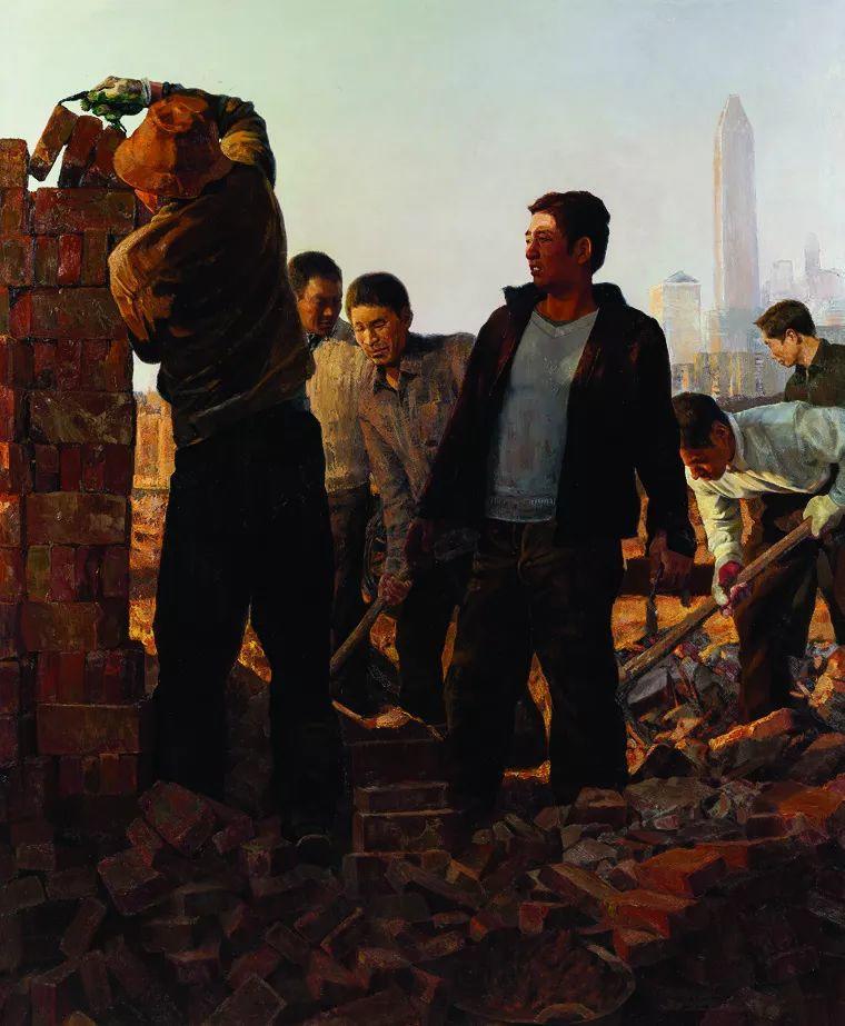 第十三届全国美展油画作品展全集595幅 (上)插图180