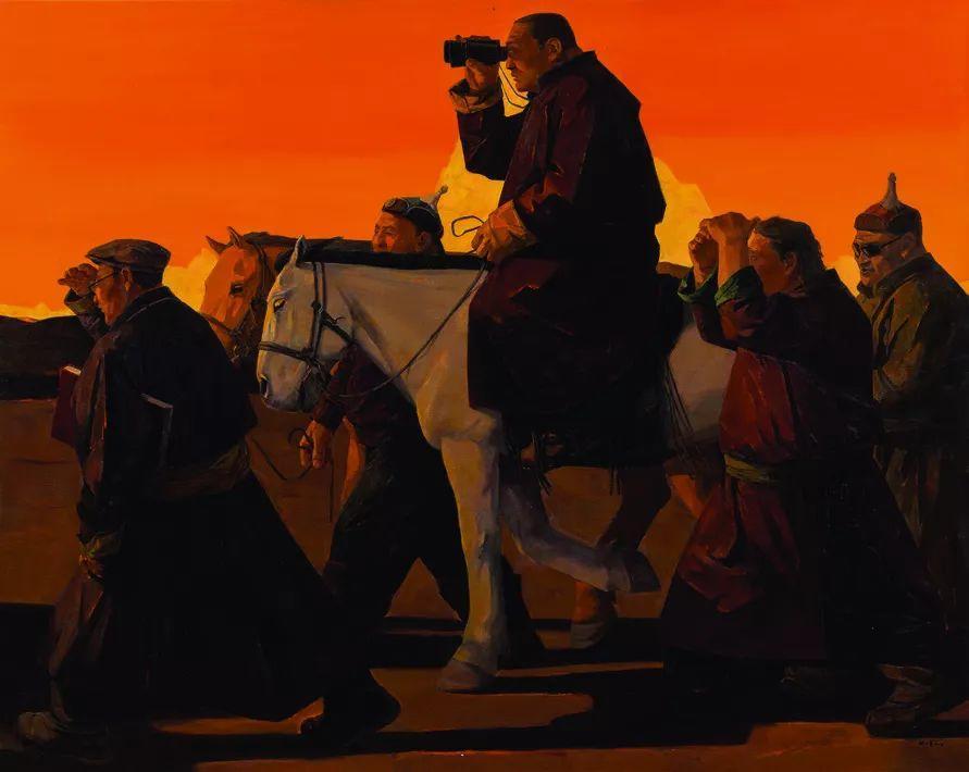 第十三届全国美展油画作品展全集595幅 (上)插图185